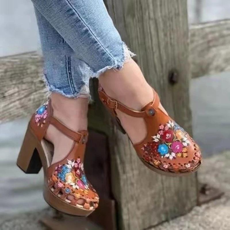 Sandalet-Printemps-t-Dames-Femmes-sandalet-modu-D-contract-Poisson-Bouche-vider-Chaussures-D-t-Chaussures