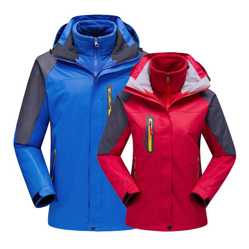 Couple-Outdoor-Softshell-Jackets-Detachable-Inner-Fleece-Men-Winter-Waterproof-Camping-Climbing-Spor