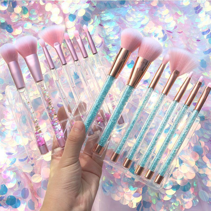 7-Pcs-Glitter-Diamond-Crystal-Handle-Makeup-Brushes-Set-Powder-Foundation-Eyebrow-Face-Make-Up-Brush