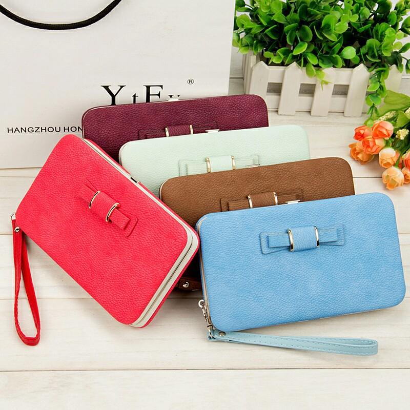 Wallet-Female-Women-s-Wallet-Snap-Coin-Purse-Phone-Bag-Bow-Multi-card-Bit-Card-Holder (1)