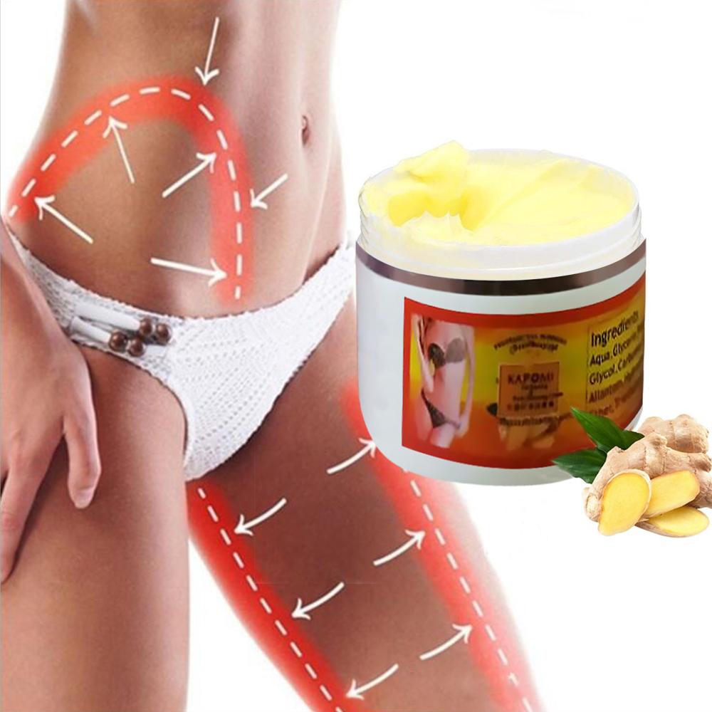 Crème amincissante pour tout le corps, brûle les graisses au gingembre, Anti-cellulite, perte de poids