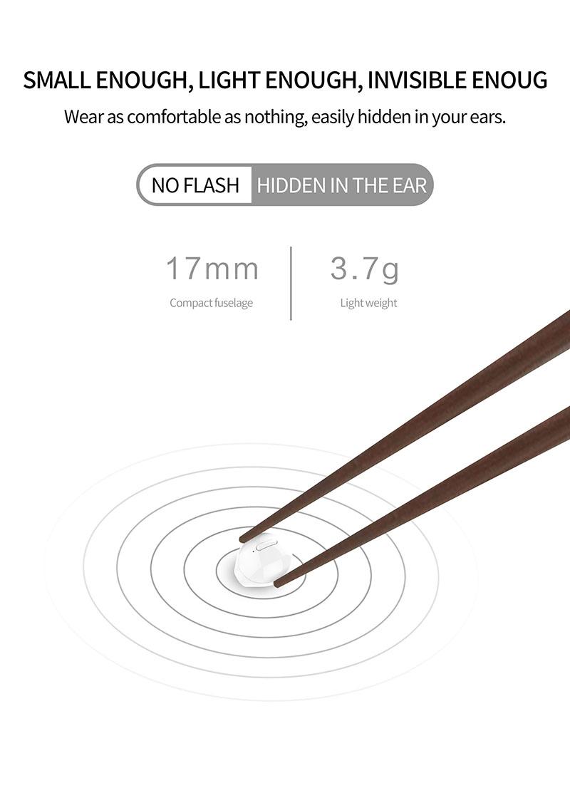 Nisheng SQR MINI X20 Wireless Earphone 10