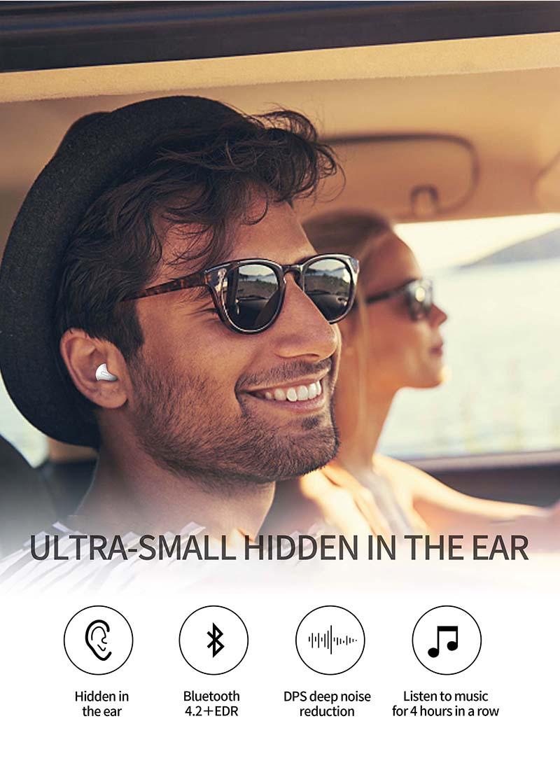 Nisheng SQR MINI X20 Wireless Earphone 11