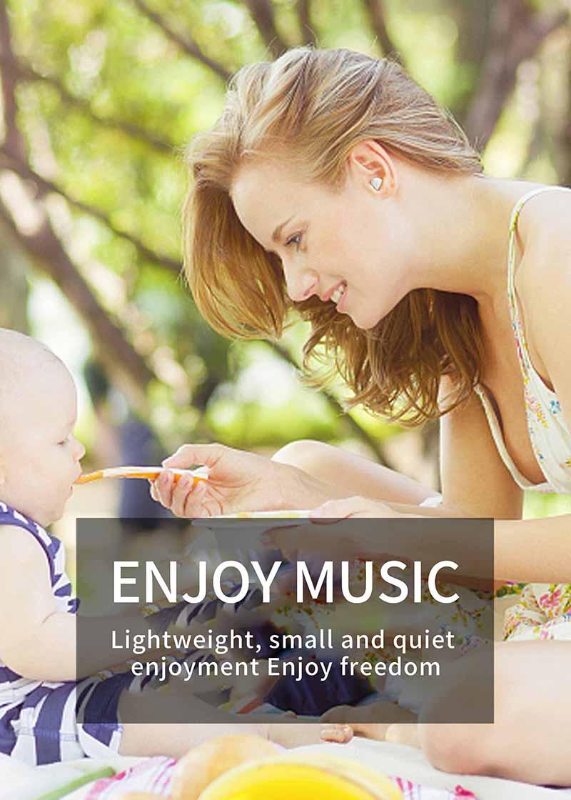 Nisheng SQR MINI X20 Wireless Earphone 9