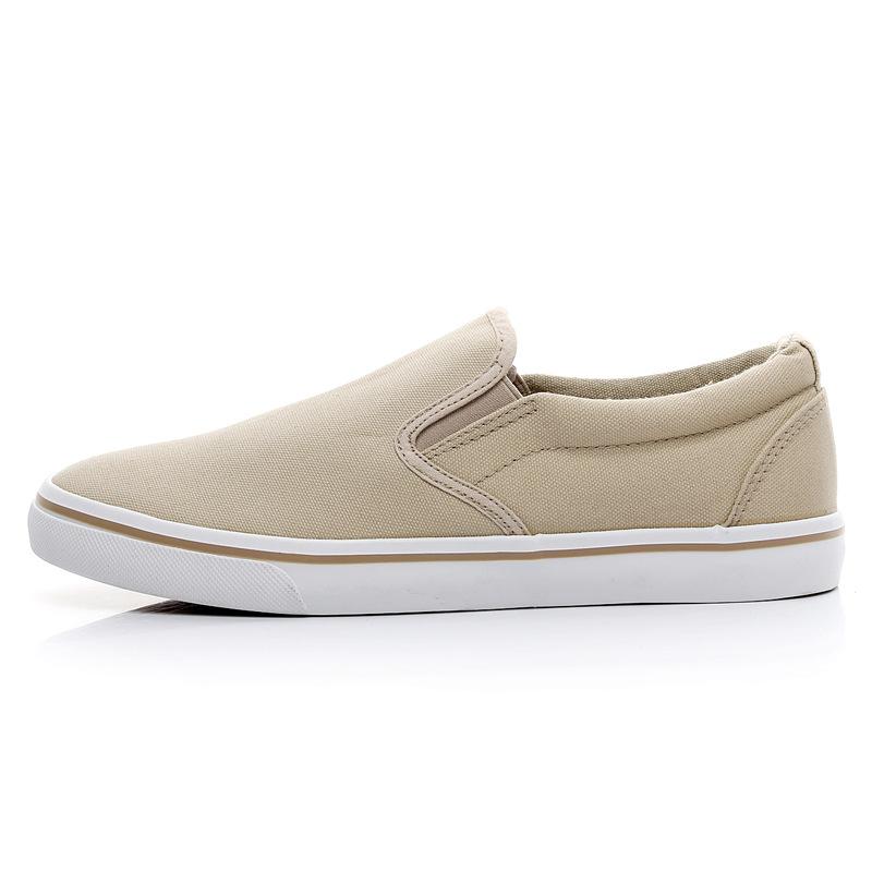 Men-039-s-Canvas-Sneakers-Classic-Black-Slip-On-Casual-Skool-Skate-Athletic-Shoes thumbnail 26