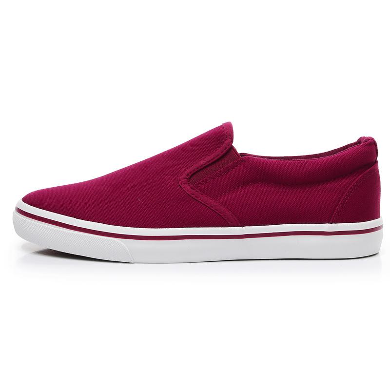 Men-039-s-Canvas-Sneakers-Classic-Black-Slip-On-Casual-Skool-Skate-Athletic-Shoes thumbnail 41