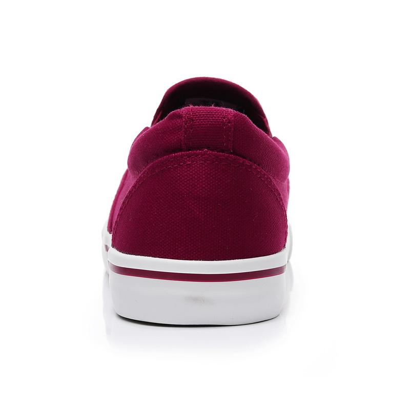 Men-039-s-Canvas-Sneakers-Classic-Black-Slip-On-Casual-Skool-Skate-Athletic-Shoes thumbnail 42