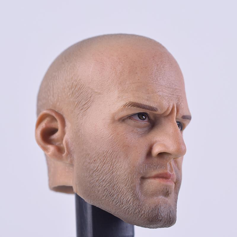 "Jason Statham Personalizado 1//6 cabeza esculpida de PVC Macho A01 ajuste 12/"" ph cuerpo figura Toys"