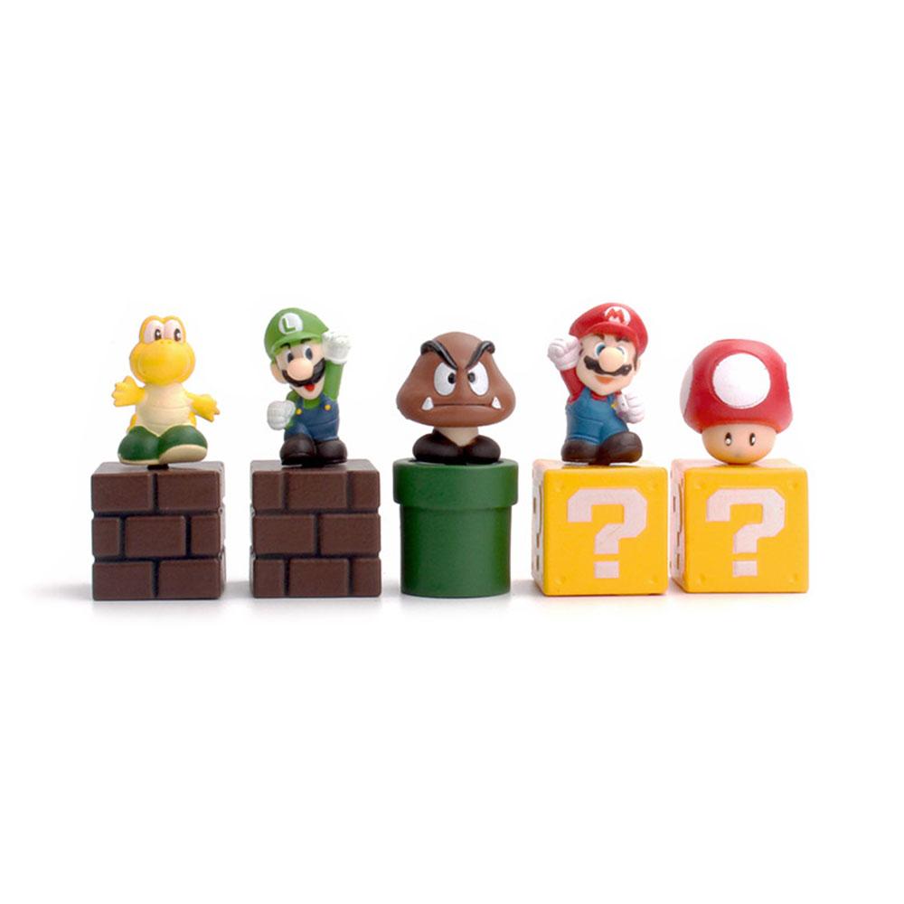 home decor Thumbtack drawing pins 17pcs Mario game creative scene Push Pins