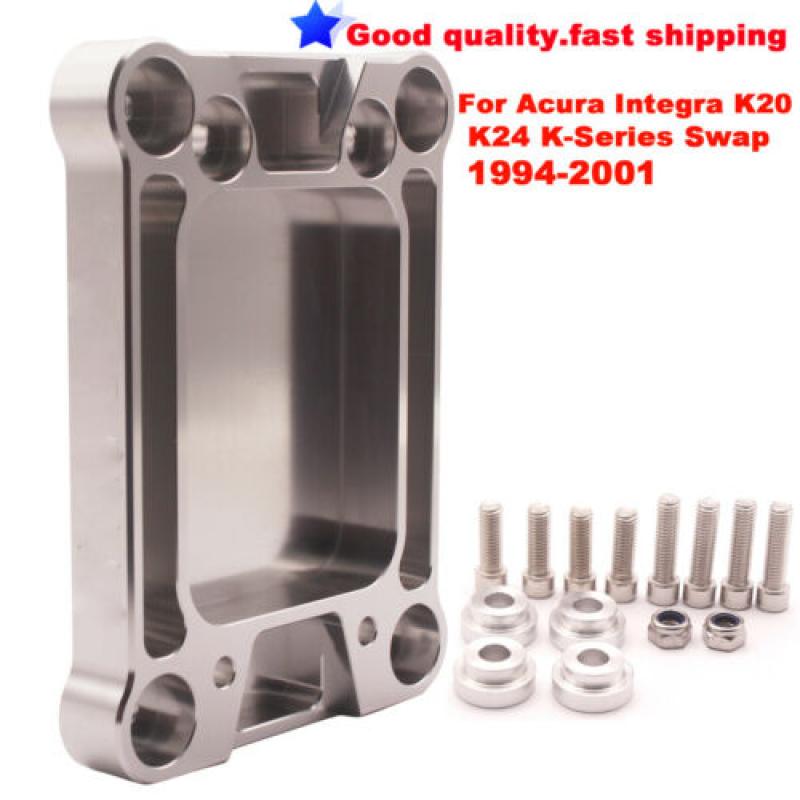 Aluminum-Billet-Shifter-Box-Base-Plate-For-Acura-Honda-Civic-K20-K24-Swap-94-01 thumbnail 2