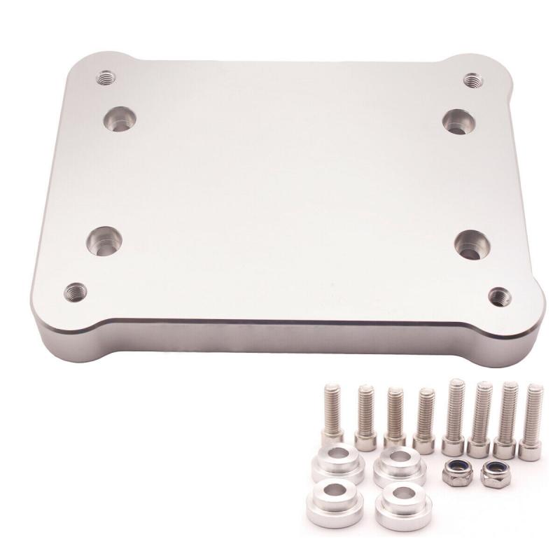 Aluminum-Billet-Shifter-Box-Base-Plate-For-Acura-Honda-Civic-K20-K24-Swap-94-01 thumbnail 5