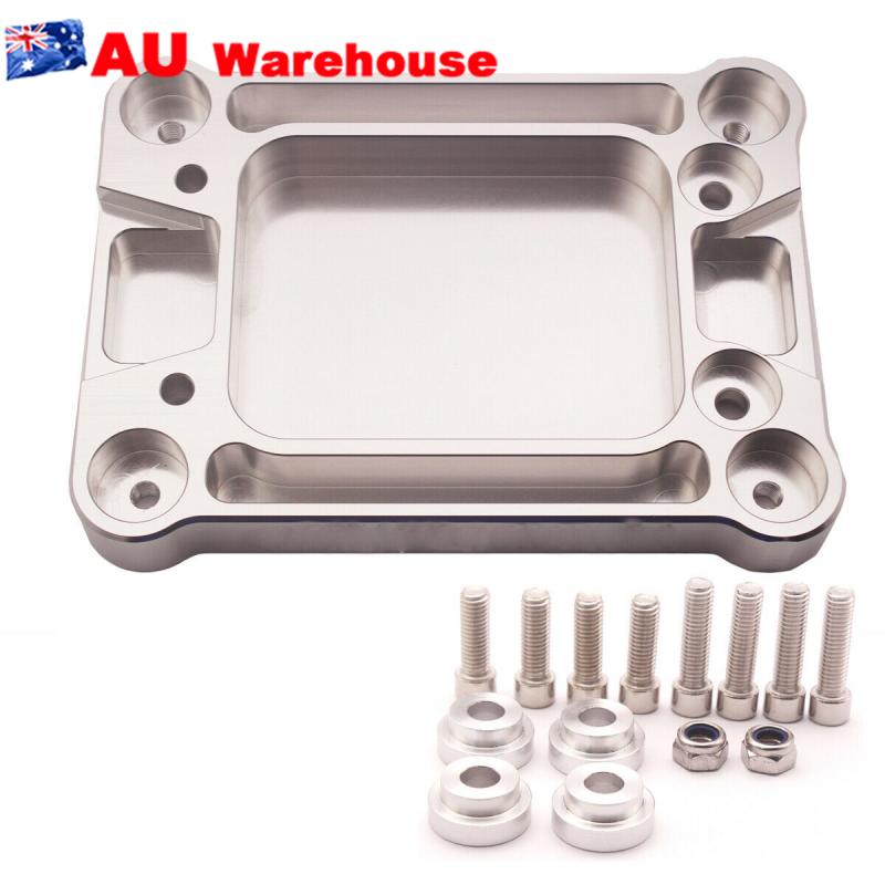 Aluminum-Billet-Shifter-Box-Base-Plate-For-Acura-Honda-Civic-K20-K24-Swap-94-01